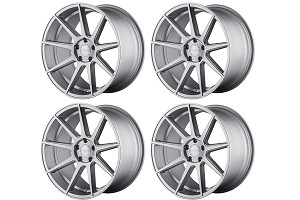 Velgen Wheels VMB9 Matte Silver Staggered Wheel Set - 20x9 and 20x10.5 (05-16)