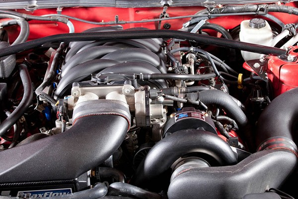 Vortech Mustang GT V-3 Si Supercharger Complete System - High Output - Polished (2005-2006)