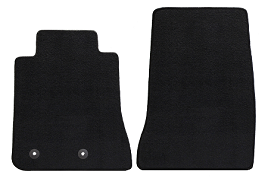 Lloyd Mats Mustang Black Floor Mat - Front Only (15-18 All) DISCONTINUED