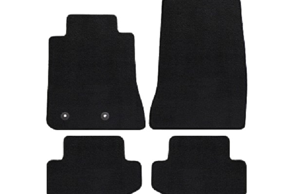 Lloyd Mats Mustang Black Floor Mats - Front & Rear (15-18 All)
