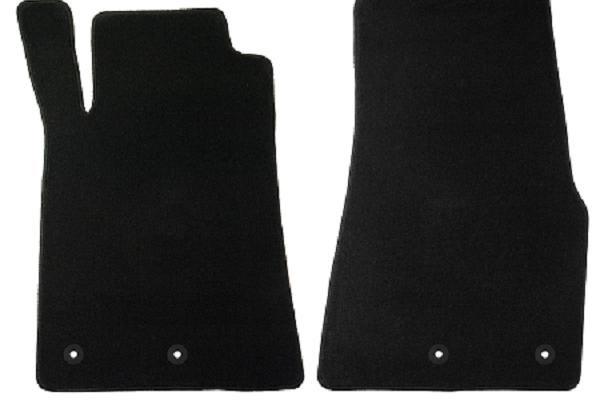 Lloyd Mats Mustang Black Floor Mats - Front Only (13-14 All) DISCONTINUED