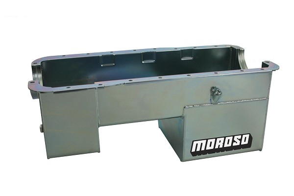 Moroso 5.0L V8 Fox Body Mustang Performance Replacement Oil Pan (1979-1995)