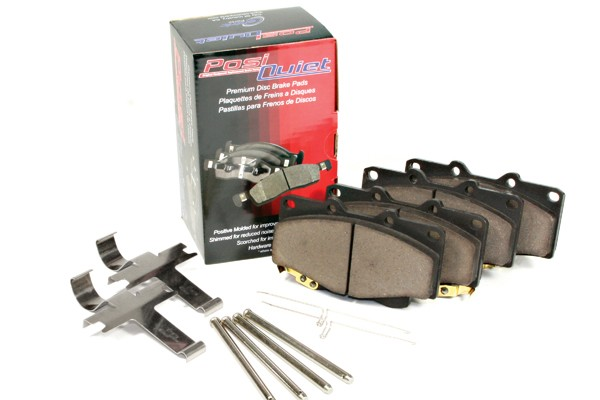 StopTech Mustang GT Non-PP Posi-Quiet Ceramic Front Brake Pads (15-17 GT w/out PP)