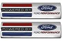 Ford Performance  Powered by Ford Classic Fender Badges