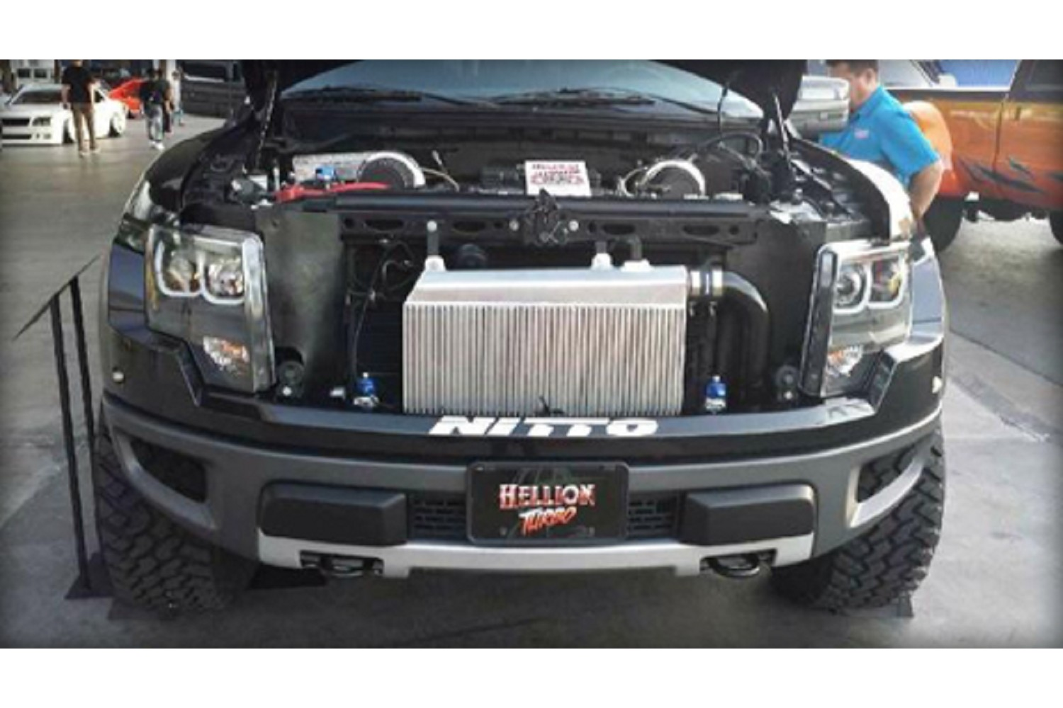 Hellion Power Systems Ford SVT Raptor/F-150 6.2L Twin Turbo System (