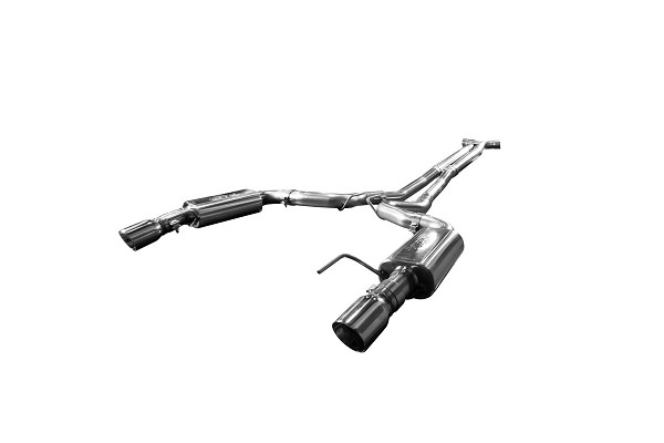 "Kooks Mustang 5.0L Complete 3"" Cat Back Exhaust System w/ X-Pipe (2015+)"