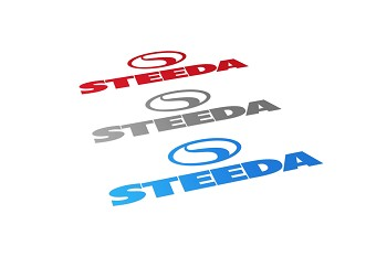 "Steeda 6"" Vinyl Decal"