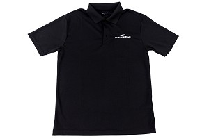 Steeda Short-Sleeve Breathable Polo Shirt, Black