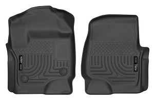 Husky Liners WeatherBeater Black Front Floor Liners (17 F-250 / F-350 / F-450)
