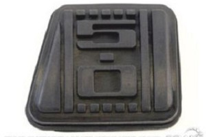 Mustang 5.0 Imprinted Clutch Pedal Pad (79-93)