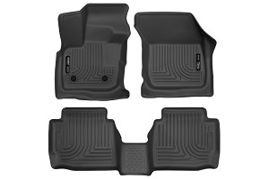 Husky Liners Ford Fusion Black Front and 2nd Row Floor Liners (2017)