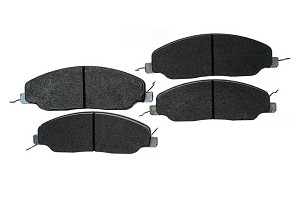 Hawk Mustang HPS Front Brake Pad Set (2015-2020)