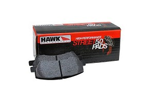Hawk Mustang HPS 5.0 Rear Brake Pad Set (2015-2020)