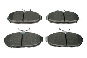 Hawk Mustang Ceramic Rear Brake Pad Set (15-17 EcoBoost/V6/GT)