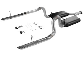 Flowmaster SN95 3.8L Mustang V6 Force II Dual Cat-Back Exhaust system (1994-1997 V6) Discontinued