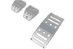 Scott Drake Mustang Pedal Cover Billet Set Manual Transmission (05-17 Manual)