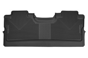Husky Liners F-150 X-Act Contour Black 2nd Seat Floor Liners (15-17 SuperCrew Cab)