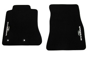Steeda S550 Mustang Floor Mat Set - Silver (2015-2019 All)