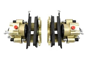 Centric Mustang Rear Brake Caliper Pair (84-86 SVO)