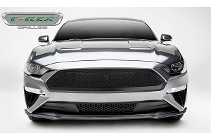 T-Rex Grilles Mustang GT - Upper Class Series - Main Grille, Insert Black Powder Coated Finish (2018+)