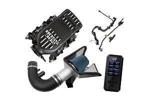 Steeda Mustang Power Pack w/ Boss Intake Manifold - Manual (11-14 GT) w/ SCT BDX