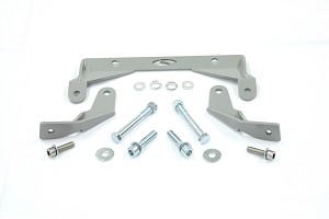 Steeda Hardcore S550 Mustang IRS Differential Support Brackets (2015-2019)
