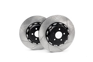 Steeda S550 Performance Pack Mustang GT Front Two-Piece 380mm x 34mm Floating Rotors (2015-2019)