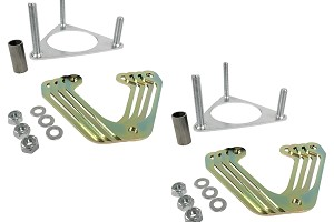 Steeda S550 Mustang Front Ride Height Spacer Kit (2015-2019)