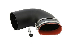Steeda Mustang GT Elbow for ProFlow Closed CAI w/ CJ Intake Manifold (2015-2020)