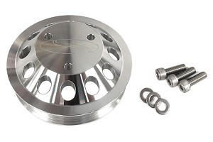 Steeda  Mustang  Billet 3 Bolt Water Pump Pulley (13-19 GT)