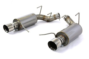Steeda S197 Mustang GT Axle-Back Exhaust 5.0L Coyote - Aggressive Tone (2011-2014 GT)
