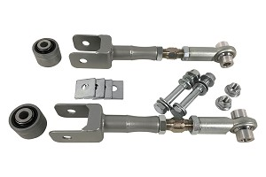 Steeda Toe Link Kit With Knuckle To Toe Link Bearing Assembly (2015-2019 GT/EcoBoost/V6)
