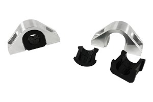 Steeda S550 Billet Rear Swaybar Mount Kit With Delrin Bushings (2015-2019 All)