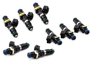 DeatschWerks 1200cc Mustang Fuel Injectors - Set of 8 (03-04 Cobra/05-16 GT)