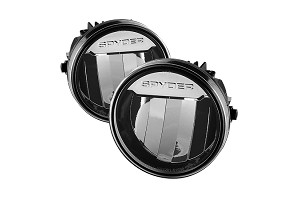 Spyder F150 09-14 LED Fog Lights Chrome
