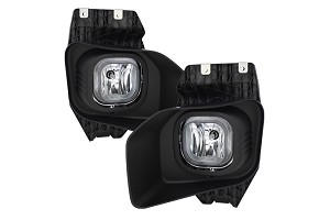 Spyder OEM Style Fog Lights F250 F350 XLT 2011-2016 OEM Style Fog Lights W/Switch- Clear