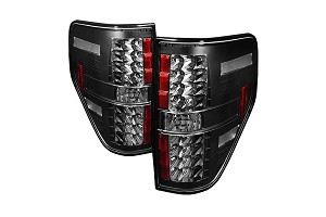 Spyder F150 09-14 LED Tail Lights - Black