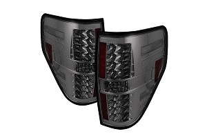 Spyder F150 09-14 LED Tail Lights - Smoke