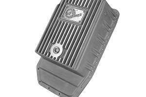 aFe POWER F-150 6R80 Transmission Pan, Machined Fins Raw Finish (2009-2016)