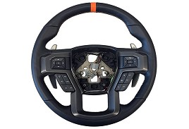 2015-2018 F-150 2017-2018 Raptor Performance Steering Wheel Kit- Orange Sightline