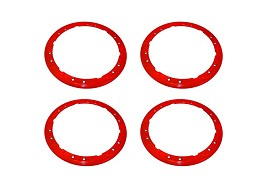 Ford Performance 2017-2018 Raptor 2009-2017 F-150 Bead-Lock Trim Set-Red