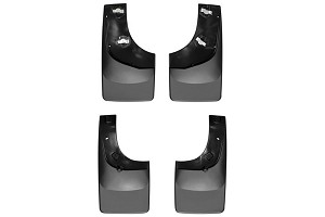 WeatherTech No Drill Front & Rear Mudflaps F-150 (2004-2014) - Black