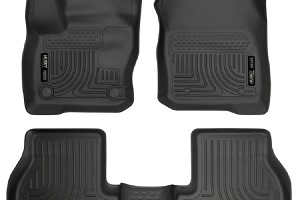 Husky Liners WeatherBeater Front & Rear Floor Liners Focus ST 2016-2018