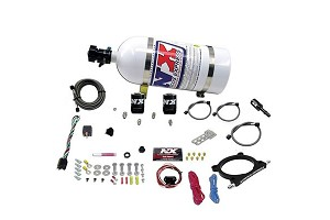 Nitrous Express 5.0L Coyote High Output Plate System (50-250HP) w/ 10LB Bottle (2011-2018)