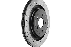 DBA Mustang 4000 Series XS Drilled & Slotted Rear Rotor (16-17 RS)