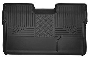 Husky Liners F-150 X-Act Contour Second Row Seat Floor Liner - Black (09-14 SuperCrew Cab)