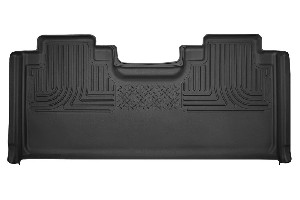 Husky Liners X-Act Contour Black 2nd Seat Floor Liners (15-18 F-150 /  17-18 F-250 & F-350 SuperCab )