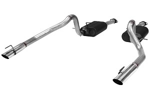 Flowmaster American Thunder 4.6L Mustang GT Cat-Back Dual Rear Exit System (1999-2004)