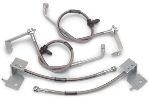 Russell Performance Mustang (with ABS) Brake Line Kit (2005-2014 GT, V6)