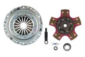 EXEDY Mach 600 Racing Stage 2 Cerametallic Clutch Kit,10 Spline,Cushion Button Disc Mustang (1996-2004)